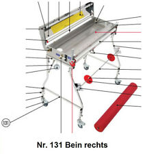 Tapofix Ersatzteil Nr. 131 Bein rechts - für Kleistermaschine CB 75/800/1000 F -