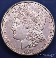 1878 S USA US Morgan Dollar 90% silver nice coin **[9938]