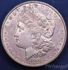 1878 S USA US Morgan Dollar 90% silver nice coin *[9938]