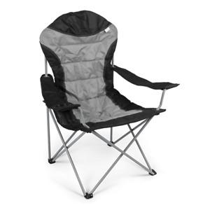 Kampa XL High Back Folding Camping Chair - Grey Fog