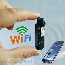 Spy nanny CAM wireless WIFI IP Pinhole DIY Video camera mini micro dvr Recorder