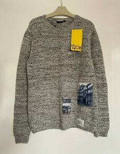 BOYS FAB DESIGNER IKKS AUTUMN WINTER KNITTED JUMPER AGE 12 Y YRS YEARS 150 NEW
