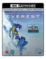 EVEREST- (4K UHD +BD + UV) RT VERSION [Blu-ray] [2017] [DVD][Region 2]
