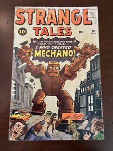 "STRANGE TALES #86 ""I WHO CREATED MECHANO! "" 1961"