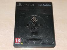 L'ordre 1886 PS4 Playstation 4 Steelbook Limited Edition ** FREE UK LIVRAISON **