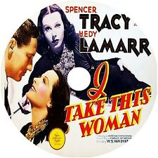 I Take This Woman _ Spencer Tracy Hedy Lamarr  V Rare 1940