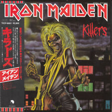 IRON MAIDEN KILLERS CD MINI LP OBI (JAPANESE BOOKLETS)