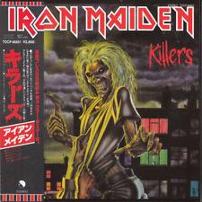 IRON MAIDEN KILLERS CD MINI LP OBI (JAPANESE BOOKLETS)
