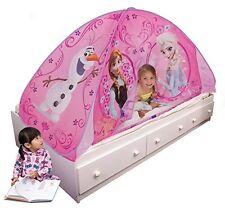 NEW Tent Bed Elsa Anna Princess Playhut Disney Frozen  Play Fun Girl Kid Bedtime