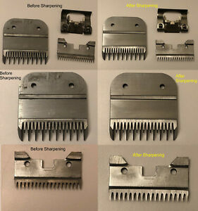 McMichael Clipper Blade Sharpening Service - Andis, Oster, Wahl, Laube, Geib