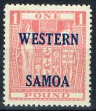 Lightly Hinged Samoan Stamps (Pre-1962)