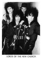 Lords Of The New Church - Press Promo Photo - 24x18 cm BIG SIZE - Gothic Punk