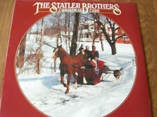 THE  STATLER BROTHERS CHRISTMAS CARD LP - 1978 - EXC