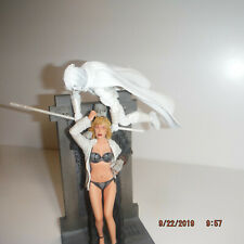 MARVEL LEGENDS MOON KNIGHT FIGURE PLUS HARLEY DAVIDSON MOTORCYCLE & THE GIRL!!!