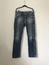 Size W34 L34 G Star Raw Jack Cover Denim Blue Jeans Distressed Stonewashed S1