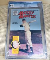 Baseball Greatest Hero #1(Mickey Mantle) Comic Book Graded CGC 9.8