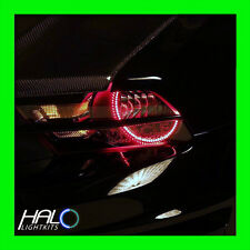 2005-2009 FORD MUSTANG RED LED LIGHT HEADLIGHT HALO KIT (2 Rings) by ORACLE