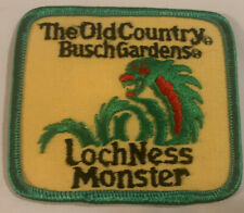 Vintage Patch-The Old Country Busch Gardens-Loch Ness Monster Iron on
