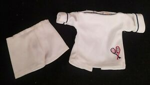 My Friend Fisher Price Doll Outfit Springtime Tennis Shirt w/Rackets Shorts