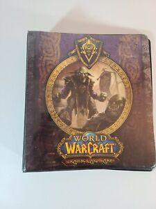 2007 World Of WarCraft Trading Card 3 Ring Binder
