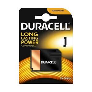 1 x Duracell J Alkaline Battery 6V Camera, Medical  4LR61 7K67 539 KJ 1412AP