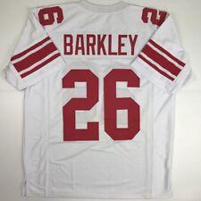 New SAQUON BARKLEY New York White Custom Stitched Football Jersey Size  Men s XL 06041fdc5