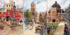 Set 6 Oxford  Tuck Oilette College Series 27 J Finnemore pcs unused Ref M526