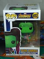 Marvel Avengers Infinity Young Gamora Pop #417 Vinyl Bobble-Head Aus Seller