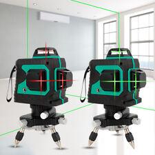3d Self Leveling Horizontal Vertical Cross Measuring 12 Lines Laser Level New