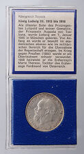 Sammlungsauflösung Bayern 8, Silber, 2 Mark 1914 D, Ludwig III.