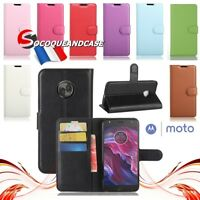 Etui coque housse XCOLORS PU Leather Wallet case cover Motorola MOTO (All models
