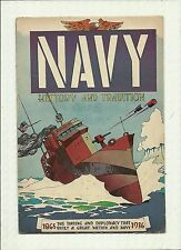 "NAVY HISTORY AND TRADITION #NN 1959  ""NAVY RECRUITMENT COMIC BOOK SOLID GD/VG"