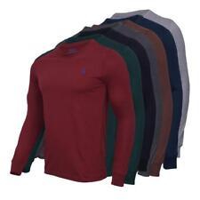 Polo Ralph Lauren Men CrewNeck Classic Fit Long Sleeve Tee S M L XL 3x 4x 5x Nwt
