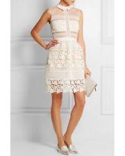 Self-Portrait Graciella Guipure Lace Mini Dress Sizes UK 8, UK 10 Sold Out!!
