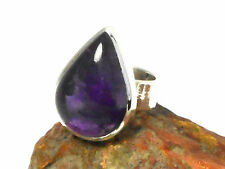 AMETHYST    Sterling  Silver   925  Gemstone   RING  -  Size: K  -  Gift  Boxed!