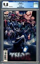 THOR #5 (2020 Marvel) CGC 9.8 NM/M Second Printing #731