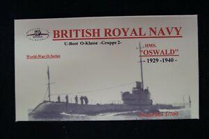 HP Models  Brit. U-Boot der O-Klasse 2.Gruppe HMS Oswald -1929/40- 1:700 Resin