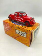 Citroën 2cv Pompiers de Cogolin 1961 échelle 1/43 Norev édition Hachette