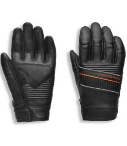 Harley Davidson Men's HWY-100 Full Finger Leather Glove