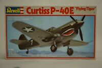"""Vintage Revell Curtiss P-40E """"Flying Tiger"""" 1:48 Scale Model"""
