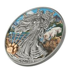 USA 2019 $1 US National Park - GLACIER 1 Oz Silver Coin only 99 pcs