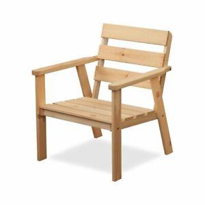 Gartensessel Holzsessel Kiefer Gartenstuhl Gartenmöbel Stuhl Gartengarnitur Holz
