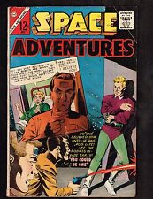 Space Adventures #51 ~ Robots invade Earth ~ (4.5) WH