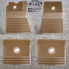 1961-1975 Buick Floor Mats | Saddle Brown with Tri-Shield | Free Shipping