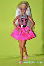Superstar Posable Articulated Jointed Pivotal Barbie Doll with Rare Flat Shoes