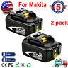 18V 6.0Ah Lithium Batteries For Makita BL1860B 18Volt LXT BL1830B 1850B 18Volt