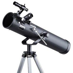 IQCREW 35X-350X 76mm Reflector Telescope