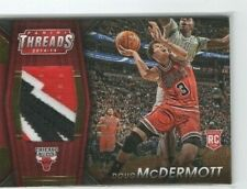 2014-15 Threads Rookie RC Jumbo Jersey Gold Doug McDermott #05/25 3 color patch