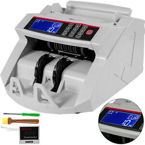 Money Counter Machine 1000 Bills Per Minute Bill Counting Hopper UV/MG Detection