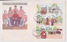 (Jr-157) 1986 Au Fdc 66c M/S National stamp week (A)